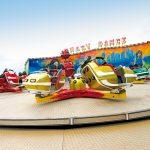 Crazy Dance | Panoramica sulla giostra dei Luna Park